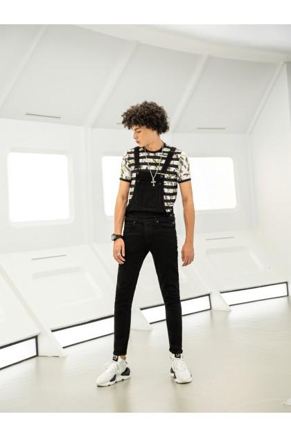 Classic Black Jumpsuit Denim