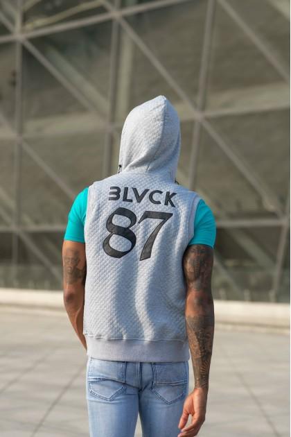 [MxM] BLVCK 87 Vest Grey + Reversal